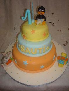 Torta infantil Tinny toons
