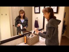 Organizing rule: Contain your items- here is quick video on how that helps you get/stay organized.