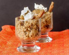 Pumpkin Rice Pudding in a slow cooker...it's gluten free and vegan too!