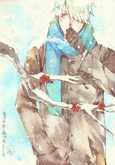 /Ginko Mushishi/#1256231 - Zerochan | Artland | Yuki Urushibara / 「蟲師-雪の中に咲く赤い梅」/「SF君」のイラスト [pixiv]