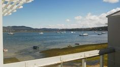 View from our upstairs lounge of the Knysna Lagoon, www.thelofts.co.za.