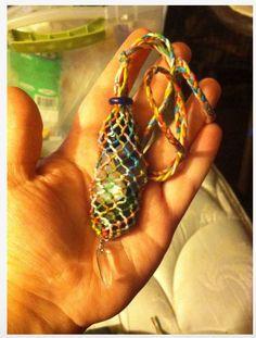 Instructables Interchangable Stone Macrame Necklace
