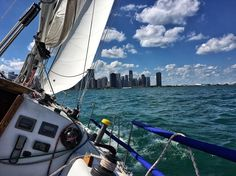 #sailing #Chicago #lakemichigan #skyline #instagood #illgrammers #chicagogram #chitown #sailingstagram #sailboat by rustbeltanthro