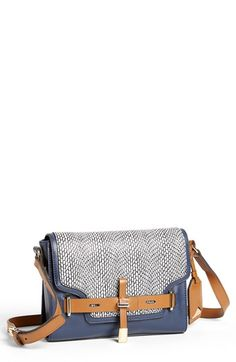 Vince Camuto 'Max' Leather & Calf Hair Crossbody Bag, Small available at #Nordstrom