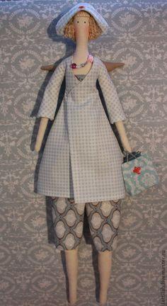 """Куклы Тильды ручной работы. Ярмарка Мастеров - ручная работа Тильда Фея """"Добрый доктор"""" (продано). Handmade."""