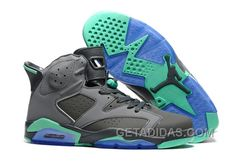 """http://www.getadidas.com/2016-air-jordan-6-green-glow-cement-grey-green-glow-super-deals-c2p8at4.html 2016 AIR JORDAN 6 """"GREEN GLOW"""" CEMENT GREY/GREEN GLOW SUPER DEALS C2P8AT4 Only $93.00 , Free Shipping!"""