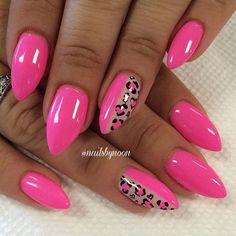 Shellac Nails, Neon Nails, Cute Acrylic Nails, Pink Nails, Manicure, Stylish Nails, Trendy Nails, Purple Nail Art, Leopard Print Nails