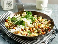 Fit-Food - Rezepte aus der Vital-Küche - gebratenes-gemuese  Rezept