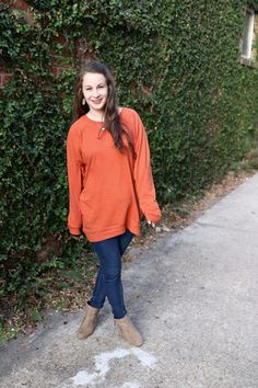 The Mint Julep Boutique Slouchy Tunic