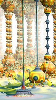 Gallery : Hybrid 3D fractals