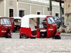 Copan, Honduras  moto taxis en Copan!   me gusta.