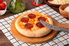 Receita de Pan pizza pepperoni em receitas de fritadeira sem oleo, veja essa e outras receitas aqui!