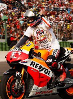 HRC - HONDA REPSOL Marc Marquez - World Champion