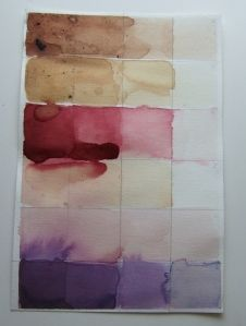 This website shows you how to create and then sample natural dyes. There are easy-to-understand instructions on how to make dyes lighter or darker, opaque or transparent, etc.