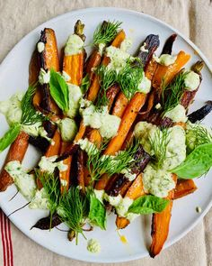 Carrot Recipes, Paleo Recipes, Low Carb Recipes, Best Side Dishes, Main Dishes, Grated Carrot Salad, Nigel Slater, Roasted Carrots, Meals For The Week