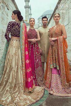 Samarkand Bridal Wear Collection 2018 by Sania Maskatiya – Niftilicious Pakistani Bridal Couture, Indian Bridal Fashion, Indian Couture, Asian Fashion, Bridal Lehenga, Ethnic Fashion, Latest Fashion, Pakistani Outfits, Indian Outfits