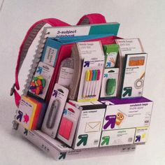 Cool advertising idea for back to school supplies... Since the parents have to supply instead of the school!