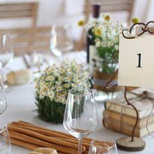 Allestimento e centrotavola country chic   Wedding designer & planner Monia Re - www.moniare.com   Organizzazione e pianificazione Kairòs Eventi -www.kairoseventi.it