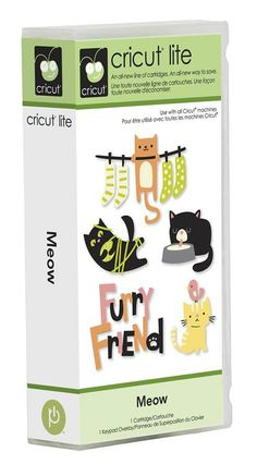 Cricut® Lite Meow Cartridge