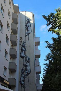 Graffiti in Berlin.