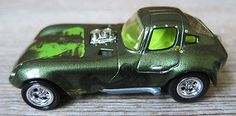 """Johnny Lightning """"Creature from the Black Lagoon"""" Universal MonstersSeries, 1 of 3, Cheetah Prototype. Never released! 1/64 diecast car. (Not White Lightning). Designed by Tom """"Z"""" Zahorsky"""