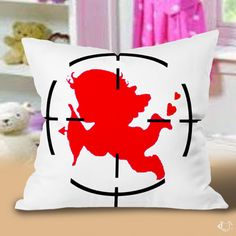 Cupid Love You Valentine Pillow Cases