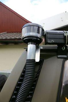 Zyklonfilter selber einbauen. Tipps und Tricks für unsere Fahrzeugvorbereitung. VW Bus T3 Syncro