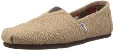- Woven burlap upper - Suede insole - Man Made Out Sole - Elastic Vamp - Causal Slip On Shoes