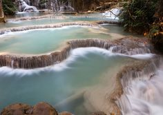 Huang Xi waterfall, Laos. Photo by Thomas Hagenau/National Geographic Traveler Photo Contest