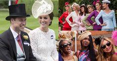 海外スナップ英国王室主催の競馬ロイヤルアスコット開催色とりどりのヘッドドレスが会場に華を添える