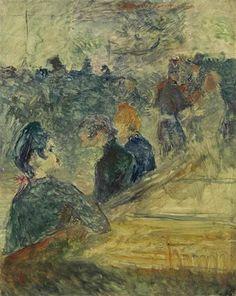 Henri Toulouse-Lautrec, Au bal du Moulin de la Galette