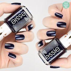 Essie Starry Starry Night – swatch by frischlackiert