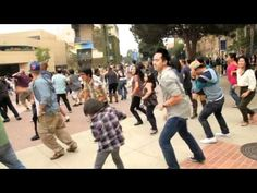 Flash mob wedding proposal. This is sweet in an extremely cheesy and public way. Here's hoping that when that day comes I won't be complaining about how it was done.