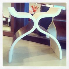 Cluny Leather Stool #cantoni #modern #design Photo by cantonidesign
