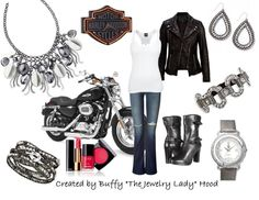 For my biker chick! Premier jewelry has bling for any style, budget and preference! Vroom vroom.