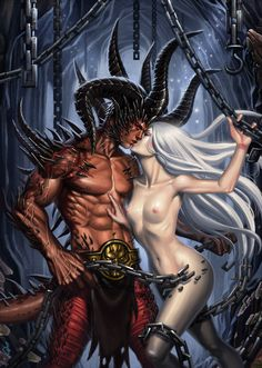 Eros and Thanatos by SaraForlenza.deviantart.com