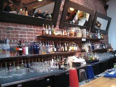 back bar shelving