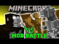HULK VS MUTANT IRON GOLEM - Minecraft Mod Battle - Mob Battles - Superheroes Mods - YouTube