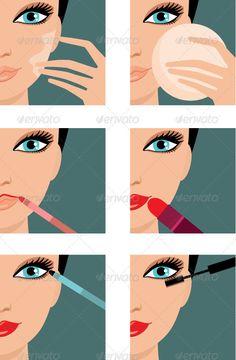 Makeup-icons