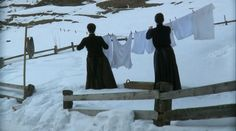 Winter wash day. I just realized I would die if I were Amish. OR no one would have clean clothes..either way