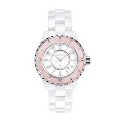 #pastel Chanel Ladies Soft Rose Limited Edition J12 Collector H4467 Watch #pastelwatch #pink #pastelpink #chanel #chanelwatch #laingsofglasgow