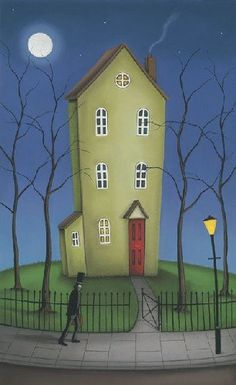 House Of Secrets by Paul Horton, Contemporary Painting for sale.