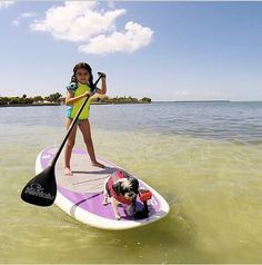 Really, What could be more fun than SUP'n with your best four-legged friend?