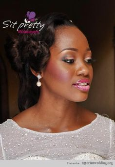 Nigerian Wedding: Stunning Bridal Hairstyles For A Perfect Wedding Day Look