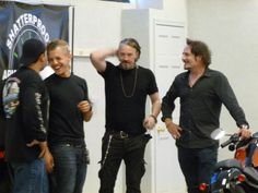 Juice // Theo Rossi // Chibs // Tommy Flanagan // Tig // Kim Coates // Sons Of Anarchy