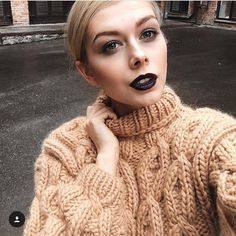 """22 Likes, 1 Comments - @woolfreaks on Instagram: """"Double sweaters all the way. #doublesweater #bigknits #bigsweaters #wool #mohair #sweaterweather…"""""""