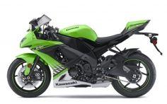 2010 kawasaki ninja zx 10r green