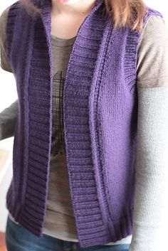 Ravelry: Project Gallery for Lilac Trail pattern by Elizabeth Smith Knitting Blogs, Knitting Patterns Free, Knit Patterns, Baby Knitting, Knitting Ideas, Free Pattern, Elizabeth Smith, Knit Vest Pattern, Ravelry