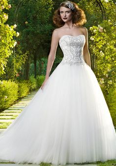 Casablanca Bridal 2071 Wedding Dress - The Knot