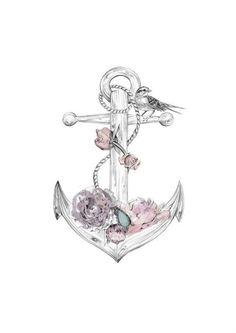 Girly Anchor Tattoos | Pinned by Julia Howell
